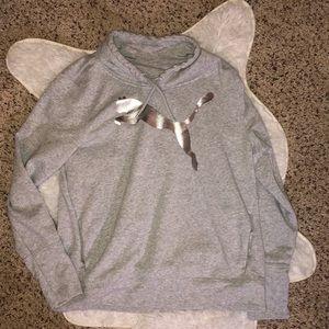 Puma cowl neck sweatshirt 💕